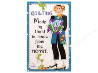 Captions Gifts & Giftwrap: Jody Houghton Magnets Quilting Sisters Charity
