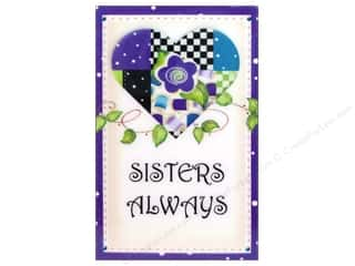 Jody Houghton Magnets Patchwork Heart Sisters