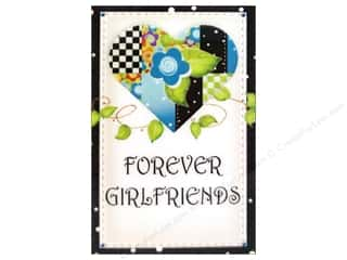 Jody Houghton Magnets Patchwork Heart ForvrGrlfrnd