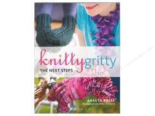 Potter Publishing Crochet & Knit: Bloomsbury Knitty Gritty The Next Steps Book by Aneeta Patel