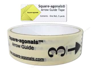 Corrections Tapes: Square-agonals Arrow Guide Tape 5 yd.