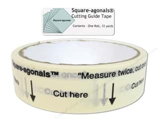 Corrections Tapes: Square-agonals Cutting Guide Tape 12 yd.