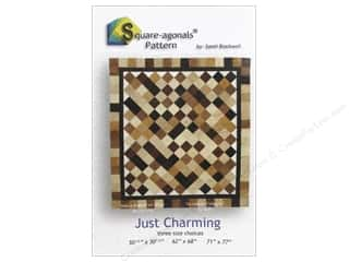 Square-agonals Patterns: Square-agonals Just Charming Pattern by Sandi Blackwell