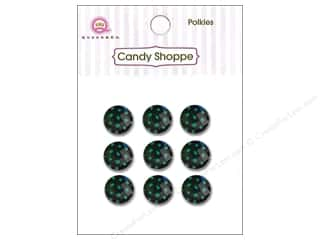 Queen & Company Green: Queen&Co Sticker Polkies Kiwi Kiss