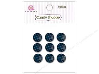 Queen&amp;Co Sticker Polkies Blueberry Bliss