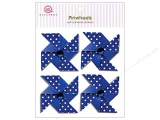 Queen & Company Blue: Queen&Co Sticker Pinwheel Blueberry Bliss