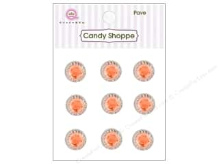 Queen&Co Sticker Pave Orange Crush