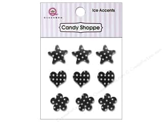 Stars paper dimensions: Queen&Co Sticker Candy Shoppe Ice Accents Polka Dot Licorice