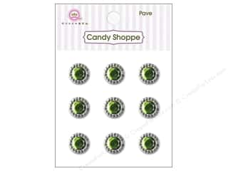 Queen & Company Green: Queen&Co Sticker Pave Kiwi Kiss