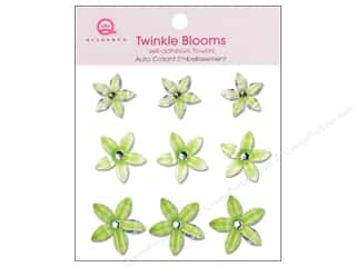 Queen & Company Green: Queen&Co Sticker Twinkle Blooms Green