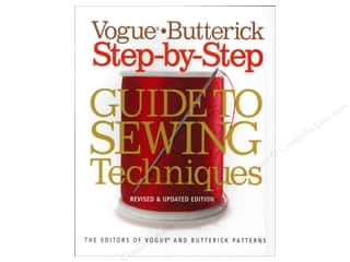 Spring Clearance: Sixth & Spring Vogue Butterick Step-by-Step Guide To Sewing Techniques Book
