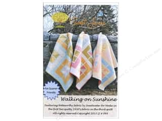 Sweet Jane Quilting Designs: Sweet Jane's Designs Walking On Sunshine Pattern