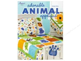 Annie's Adorable Animal Applique Book by Margie Ullery