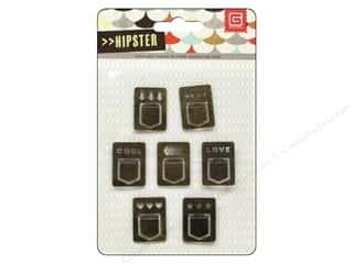 BasicGrey Embellishments Metal Tab Hipster