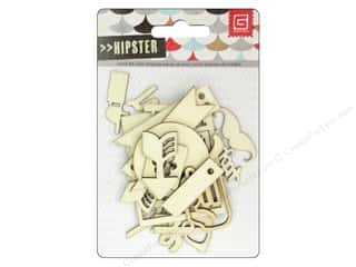 BasicGrey Die Cut Wood Veneer Hipster