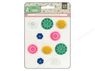 BasicGrey Buttons Vintage Mint Julep