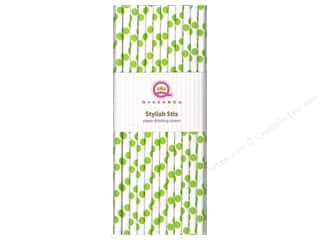 Queen & Company Craft & Hobbies: Queen&Co Stylish Stix Polka  Kiwi Kiss 25pc
