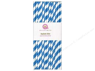 Queen&Co Stylish Stix Stripe Blueberry Bliss 25pc