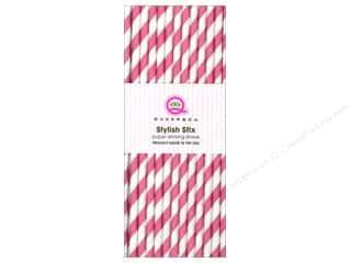 Queen&Co Stylish Stix Stripe Cotton Candy 25pc