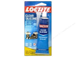 Glues, Adhesives & Tapes 2 oz: Loctite Adhesive Clear Silicone Sealant 2.7 oz.