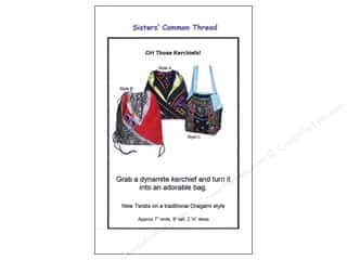Sisters' Common Thread Wearables Patterns: Sisters' Common Thread Oh Those Kerchiefs Pattern
