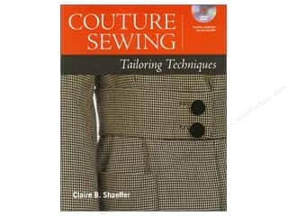 Books Clearance $5 - $10: Taunton Press Couture Sewing: Tailoring Techniques by Claire B. Shaeffer