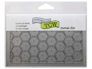 "Tools $4 - $6: The Crafters Workshop Metal Die 4""x 6"" Chickenwire"