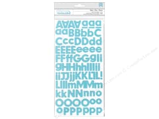 Pebbles Inc American Crafts Thickers Stickers: American Crafts Thickers Alphabet Stickers Basics Glitter Powder