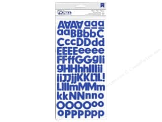 Thickers Alphabet Stickers Foam Basics Marine