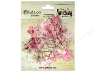 Flowers / Blossoms Brown: Petaloo Darjeeling Wild Blossom Mini Pink