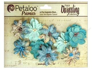 Petaloo Darjeeling Wild Blossom Medium Aqua