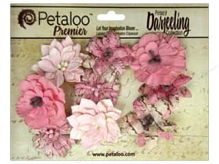Flowers / Blossoms Brown: Petaloo Darjeeling Wild Blossom Medium Pink