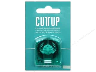 American Crafts Cutup Cartridge Straight Blade
