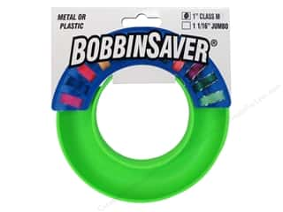 Blue Feather Products, Inc: BobbinSaver Bobbin Holder Class M - Lime Green