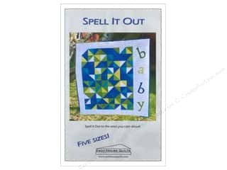 Esch House Quilts Home Decor Patterns: Esch House Quilts Spell It Out Pattern