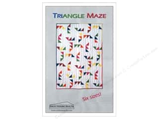 Esch House Quilts Home Decor Patterns: Esch House Quilts Triangle Maze Pattern