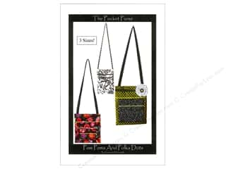 Cotton Ginny's Tote Bags / Purses Patterns: Pom Poms And Polka Dots The Pocket Purse Pattern by Charmaine McLaughlin