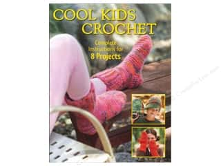 Potter Publishing Crochet & Knit: Creative Publishing Cool Kids Crochet Book by Sharon Mann, Phyllis Sandford and Margaret Hubert
