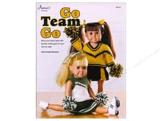 Annie's Knitting Go Team Go for 18 in. Dolls Book by Andra Knight-Bowman