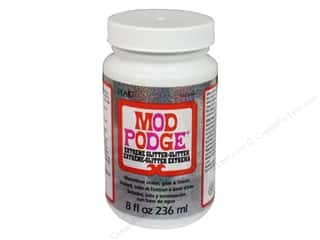 Glues/Adhesives: Plaid Mod Podge Extreme Glitter 8oz