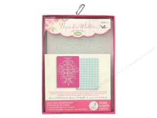 Experiment, The: Sizzix TI Embossing Folders 2PK English Botanical & Houndstooth by Brenda Walton