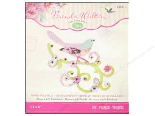 Flowers Sizzix Die: Sizzix Bigz Die Bird Scroll by Brenda Walton