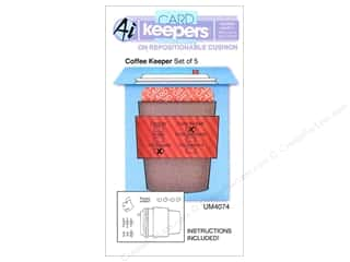Art Impressions Rubber Stamp Card Keepers Coffee Keeper
