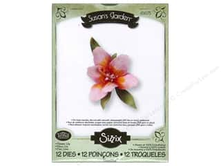 Sizzix Thinlits Die Set 12PK Flower Lily