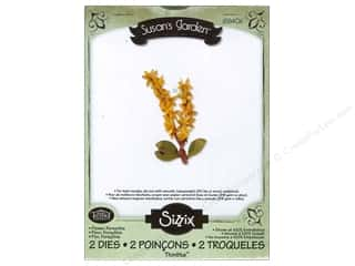 Sizzix Thinlits Die Set 2PK Flower Forsythia
