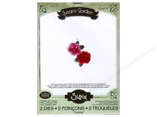 Sizzix Thinlits Die Set 2PK Flower Mini Petals