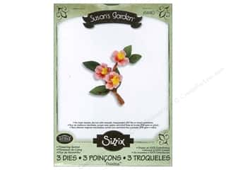 Sizzix Thinlits Die Set 3PK Flowering Quince