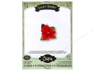 "Dies 11"": Sizzix Thinlits Die Set 11PK Flower Hibiscus by Susan Tierney-Cockburn"