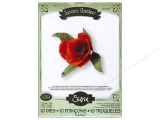 Tulip 1 7/8 in: Sizzix Thinlits Die Set 10PK Flower Tulip by Susan Tierney-Cockburn