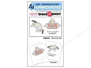 Art Impressions Rubber Stamp Bummer Set